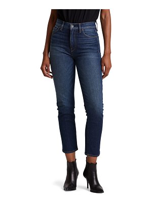 Hudson Holly High-Rise Crop Straight-Leg Jeans