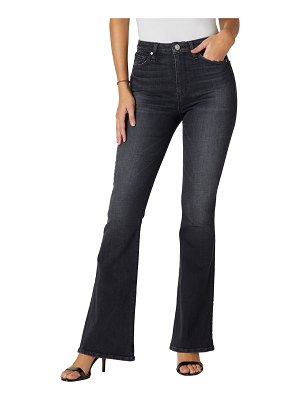 Hudson Holly High-Rise Five-Pocket Flare Jeans