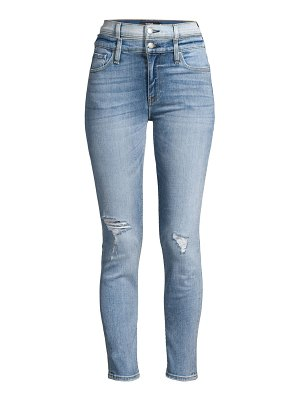 Hudson holly high-rise skinny ankle jeans