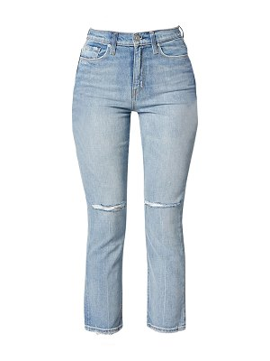 Hudson holly high-rise straight cropped jeans