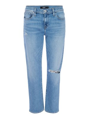 Hudson nico mid-rise cropped straight jeans