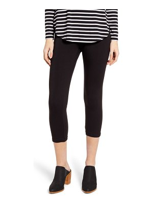 Hue ultra wide waistband capri leggings
