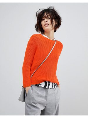 HUGO Signature Ribbed Sweater