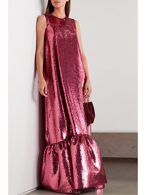 HUISHAN ZHANG genevieve sequined tulle gown