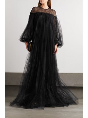 HUISHAN ZHANG ilaria oversized sequin-embellished pleated tulle gown