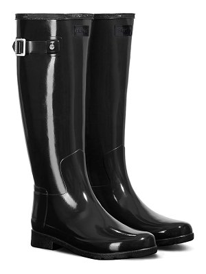 Hunter original refined high gloss waterproof rain boot