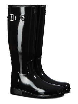 Hunter original refined gloss tall waterproof rain boot
