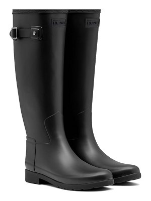 Hunter original refined waterproof rain boot