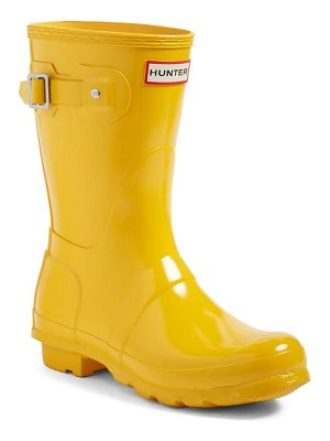 Hunter original short gloss waterproof rain boot