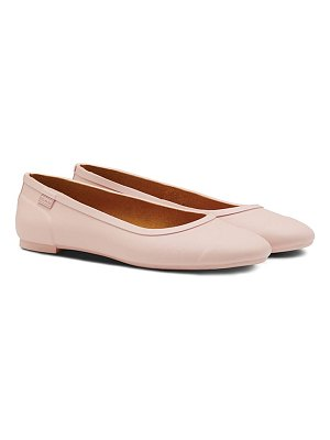 Hunter 'original tour' packable waterproof ballerina flat
