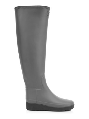 Hunter knee-high creeper rain boots