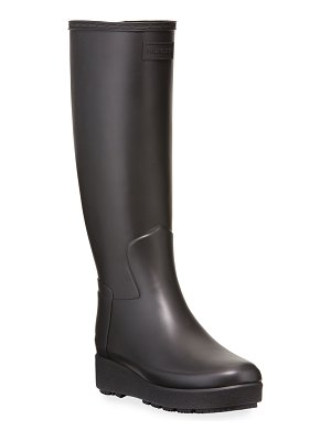 Hunter Refined Creeper Tall Rain Boots