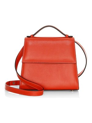Hunting Season small leather top handle front flap bag