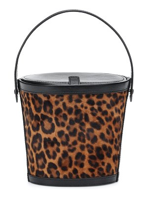 Hunting Season the bucket small leather tote