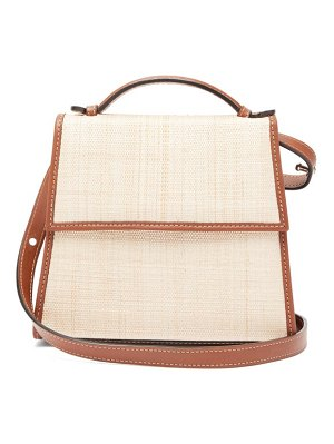 Hunting Season the top handle leather and canvas shoulder bag
