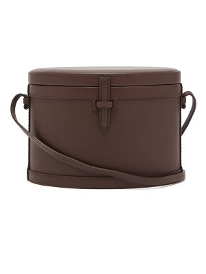 Hunting Season trunk smooth leather cross body bag