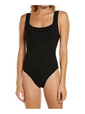 Hunza G classic one-piece swimsuit