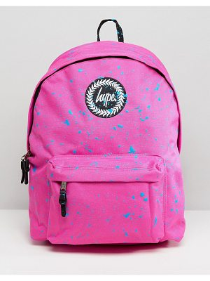 Hype Pink Splat Backpack