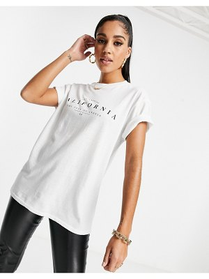 I Saw It First slogan tee in white