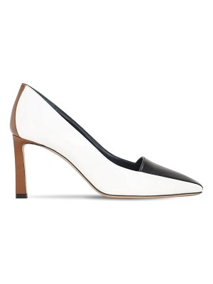 IINDACO 75mm lvr exclusive pegaso leather pumps