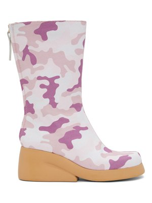 I'm Sorry by Petra Collins camper edition camo boots