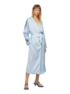 I'm Sorry by Petra Collins ssense exclusive blue graphic morning gown