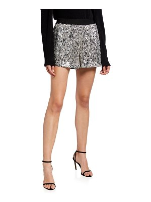 In The Mood For Love Cash Sequined Shorts