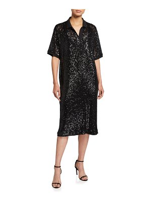 In The Mood For Love Sequined Tennis Dress