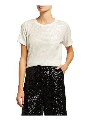 In The Mood For Love Tanya Sequin Crewneck Top