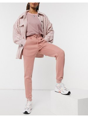 In The Style x gemma collins motif sweatpants in pink