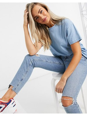 In The Style x jac jossa oversized t shirt in blue