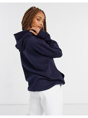 In The Style x siannise fudge oversized hoodie in navy