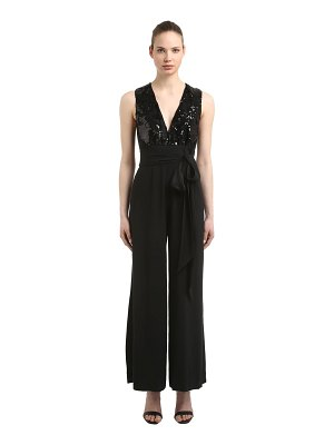 INGIE PARIS Embellished lace jumpsuit