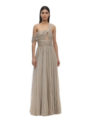 INGIE PARIS Long lurex dress w/ cut out