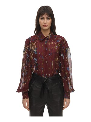 INGIE PARIS Printed chiffon shirt