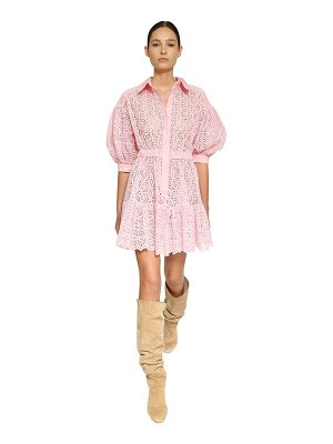 INGIE PARIS San gallo balloon sleeves mini dress