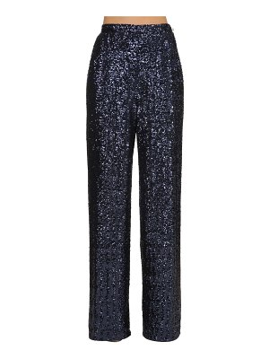 INGIE PARIS Wide leg sequined pants