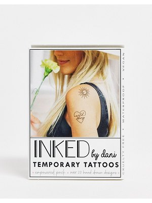 INKED by Dani temporary tattoos empowered pack-black