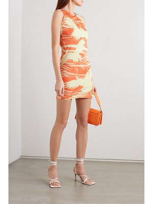 Ioannes carrie printed stretch-jersey mini dress