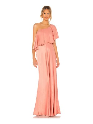 IORANE one shoulder gown