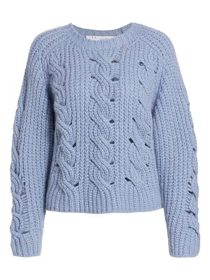 IRO babe cable knit sweater