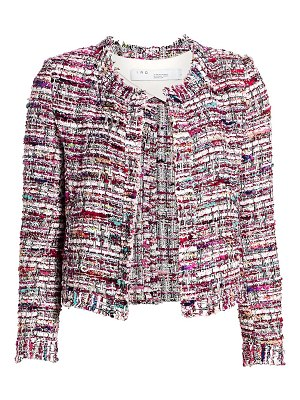 IRO brelanie wool-blend tweed jacket