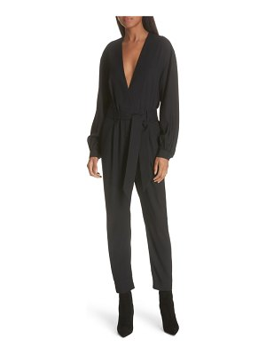IRO frame belted jumpsuit