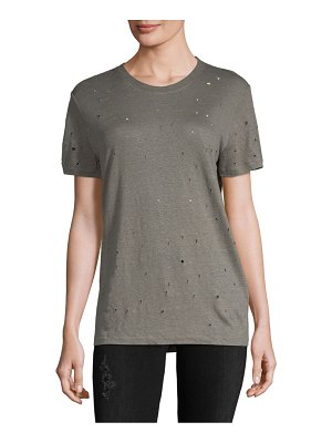 IRO Clay Perforated Linen Tee
