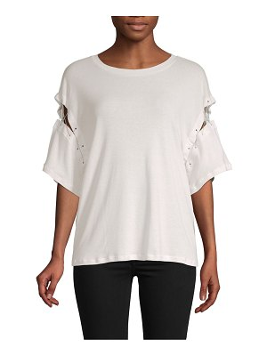 IRO Jeans Cut-Out Cotton Top