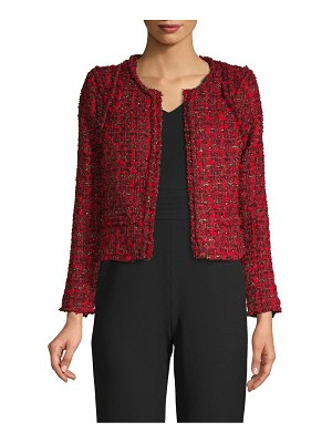IRO Jeans Disco Crop Tweed Jacket
