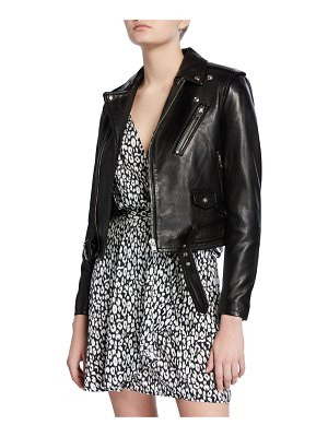IRO Viktor Leather Moto Jacket