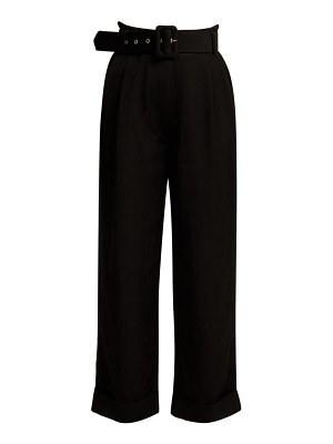 Isa Arfen high rise cropped trousers