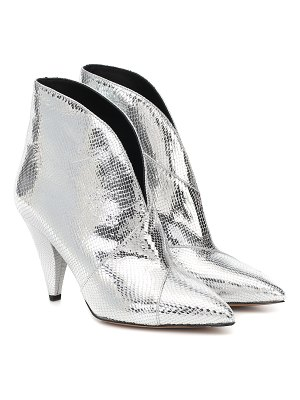 Isabel Marant archenn leather ankle boots