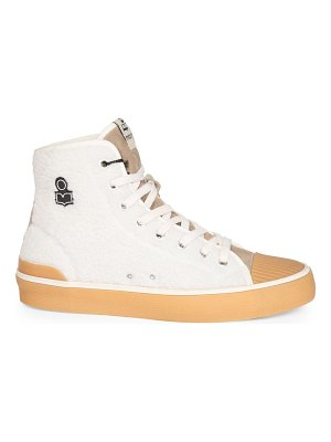 Isabel Marant benkeen faux-shearling high-top sneakers